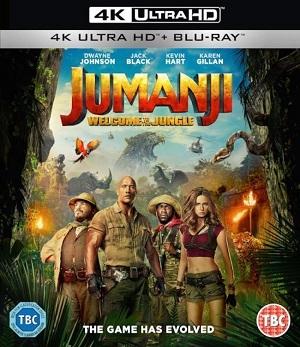 Jumanji - Bem-Vindo à Selva 4K Ultra HD Filmes Torrent Download completo