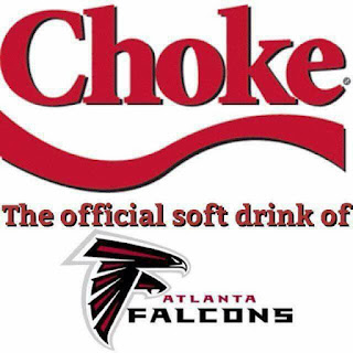 #nfl- #choke the official soft drink of #atlanta #falcons