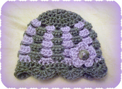 1753f98e5 Crystal Panda: Granny Stitch Preemie Baby Hat