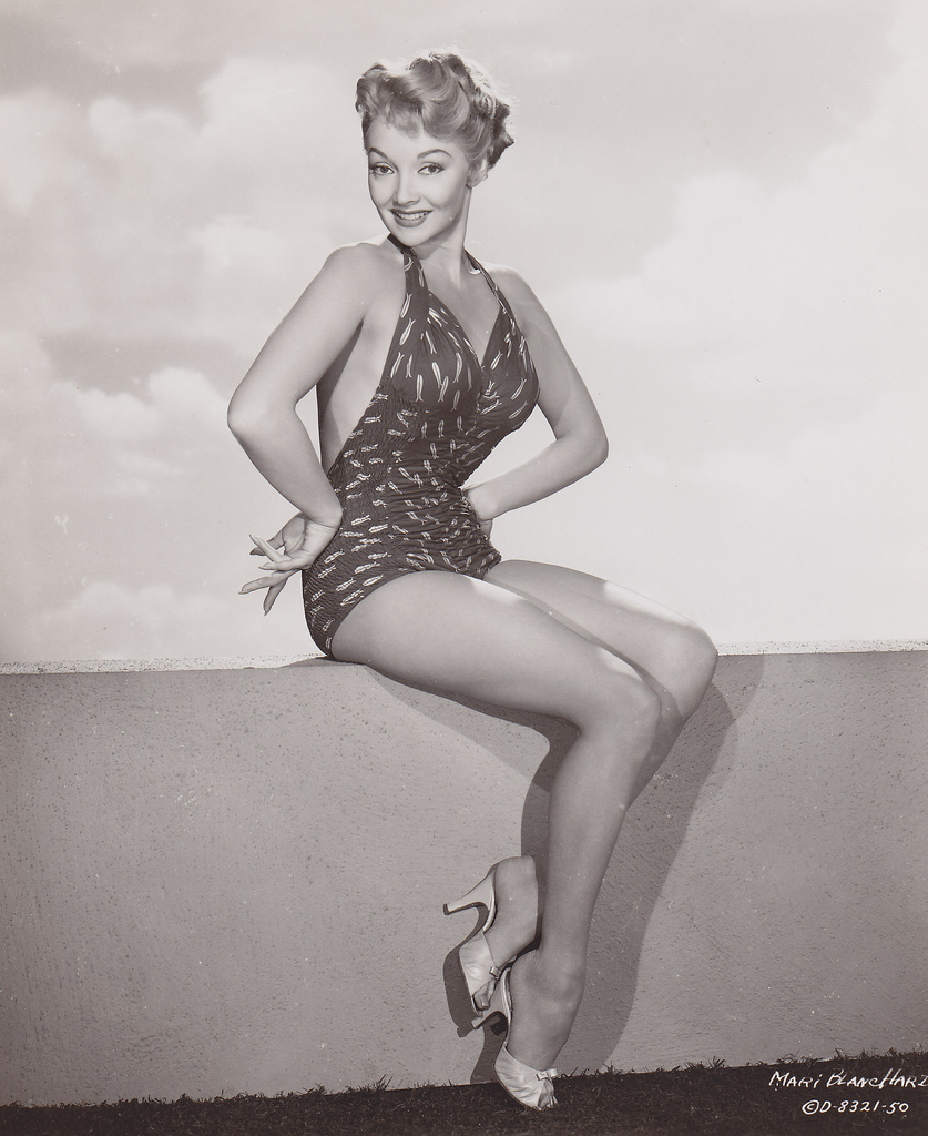 Classic Hollywood Pin-Ups  Beautiful And Sexy Portrait -3848
