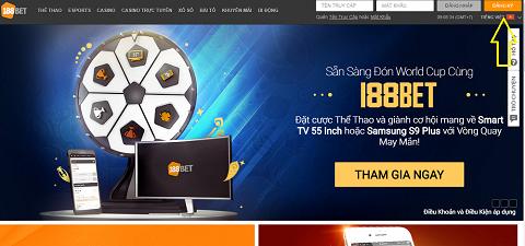 Trang web 188bet là web cá độ bóng đá uy tín  với giao diện đơn giản