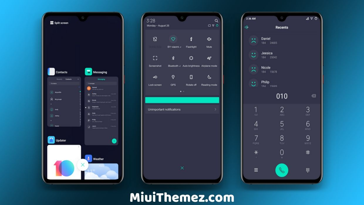 Aypon Lite Beta MIUI 10 Theme