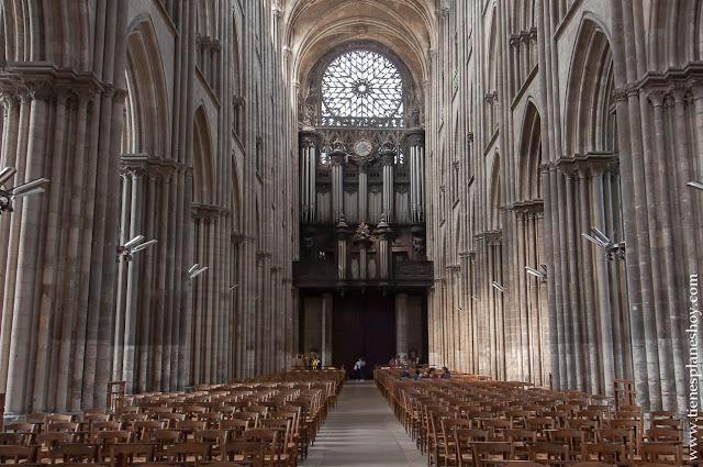 Catedral Rouen Ruan viaje Normandía Francia turismo