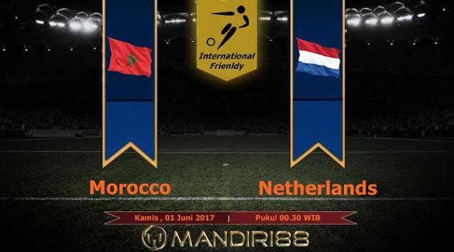 Prediksi Bola : Morocco Vs Netherlands , Kamis 01 Juni 2017 Pukul 00.30 WIB