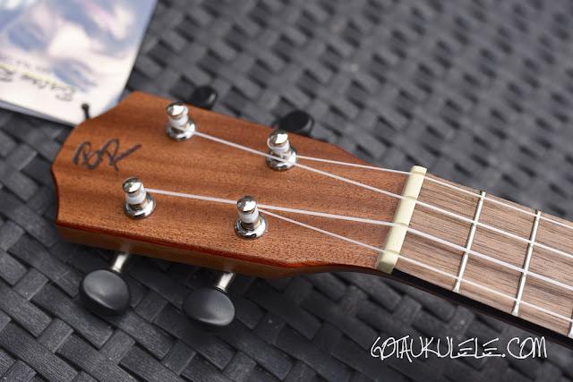 baton rouge v2-sw sun soprano ukulele headstock