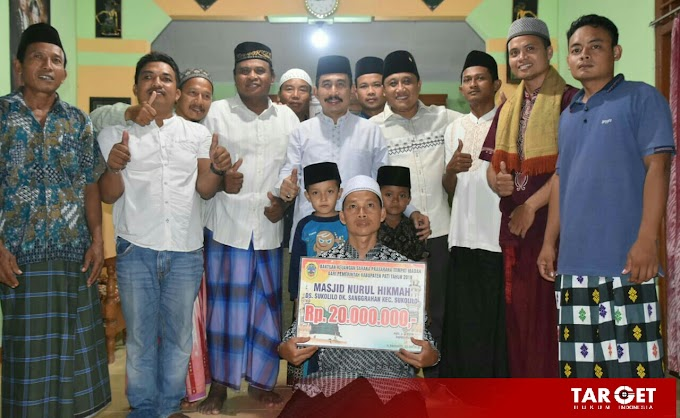 Safari Ramadhan Perdana, Bupati Haryanto Ajak Masyarakat Menyengkuyung Pembangunan
