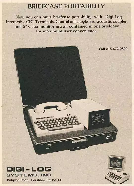 Old days' Computer Advertisements 7
