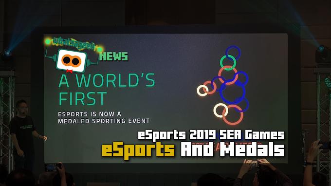 A World's First eSport Sebagai Cabang SEA Games 2019