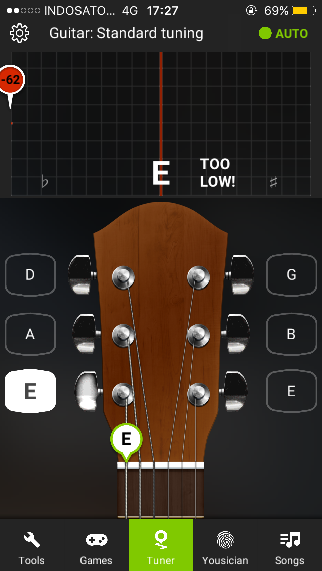 Aplikasi Setel Kunci Gitar : aplikasi, setel, kunci, gitar, Aplikasi, Tuner, Gitar