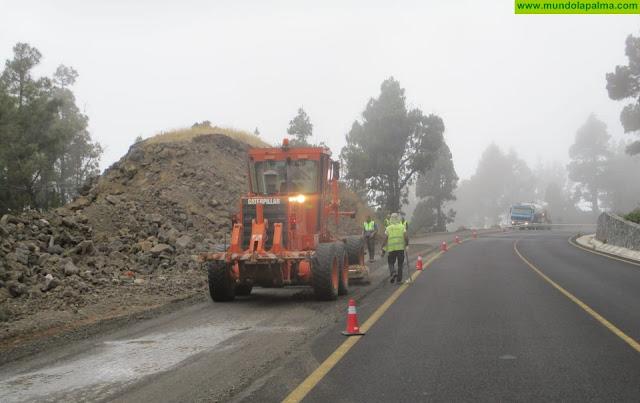 Obras Públicas concluirá en los próximos días el asfaltado del tramo Los Canarios-El Charco de la carretera San Simón-Tajuya