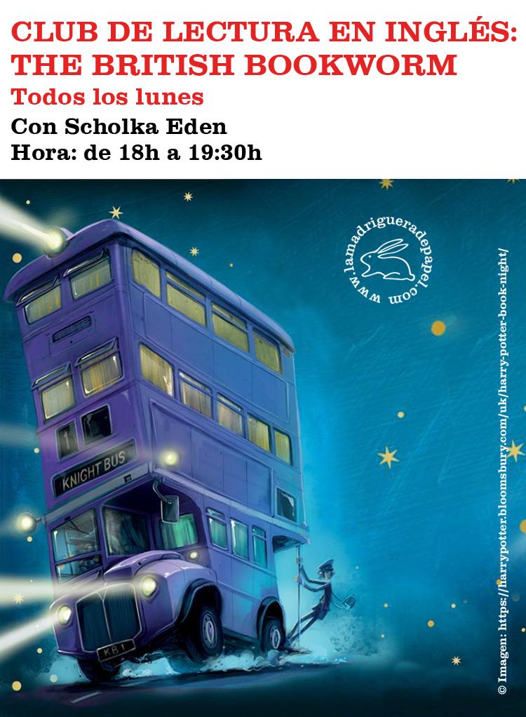 TOLEDO-LIBRERÍA-LA MADRIGUERA DE PAPEL-ACTIVIDADES-CLUB DE LECTURA EN INGLÉS