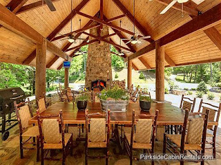 Roosevelt Lodge Gatlinburg cabin
