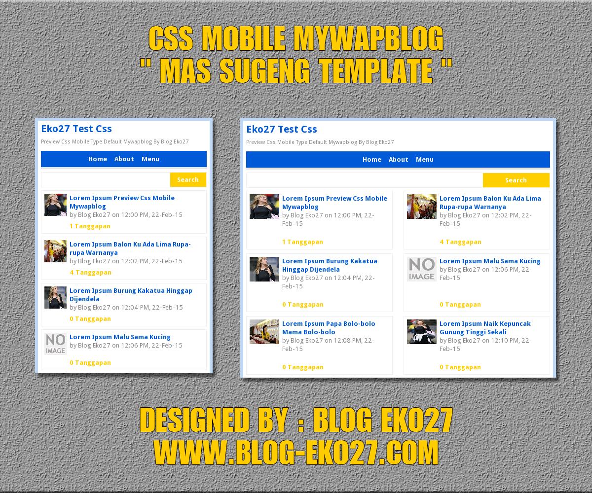 Css Mas Sugeng Mobile MWB