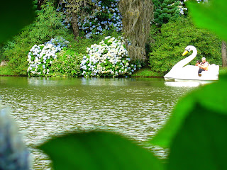 Pedalinho no Lago Negro, em Gramado