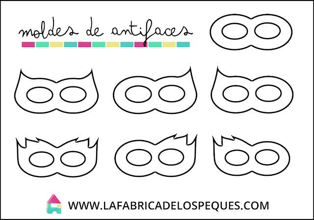 Moldes antifaces