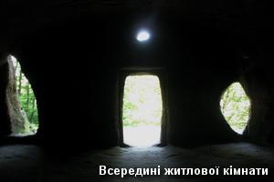 Всередині житлової кімнати