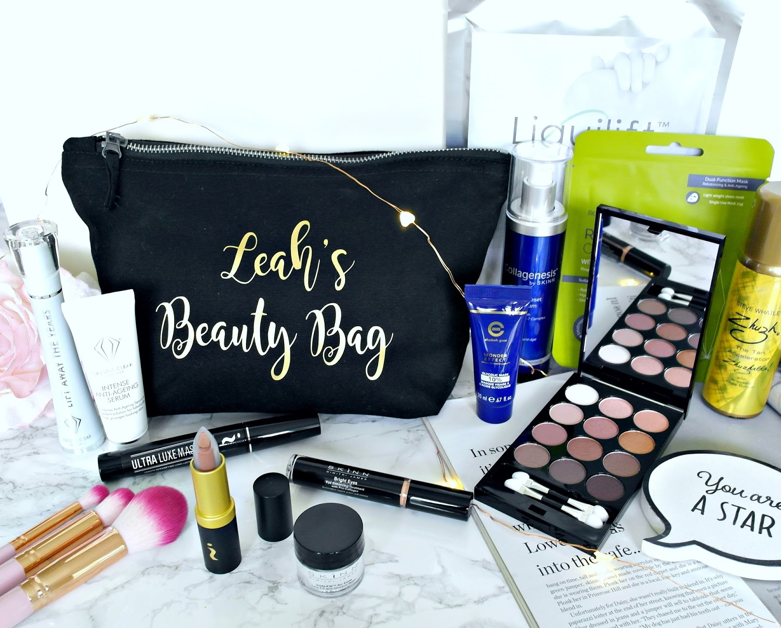 Ideal World Beauty Day, makeup, personalised makeup bag