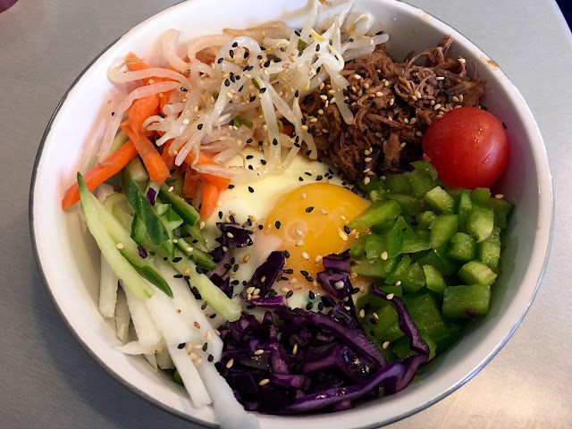 Korean Beef Bibimbap at Tuk Tuck in Bristol