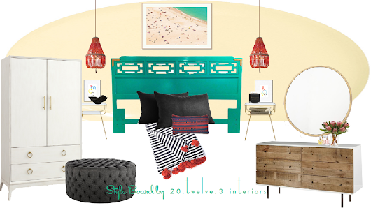 love it, live it: beachy mod bedroom