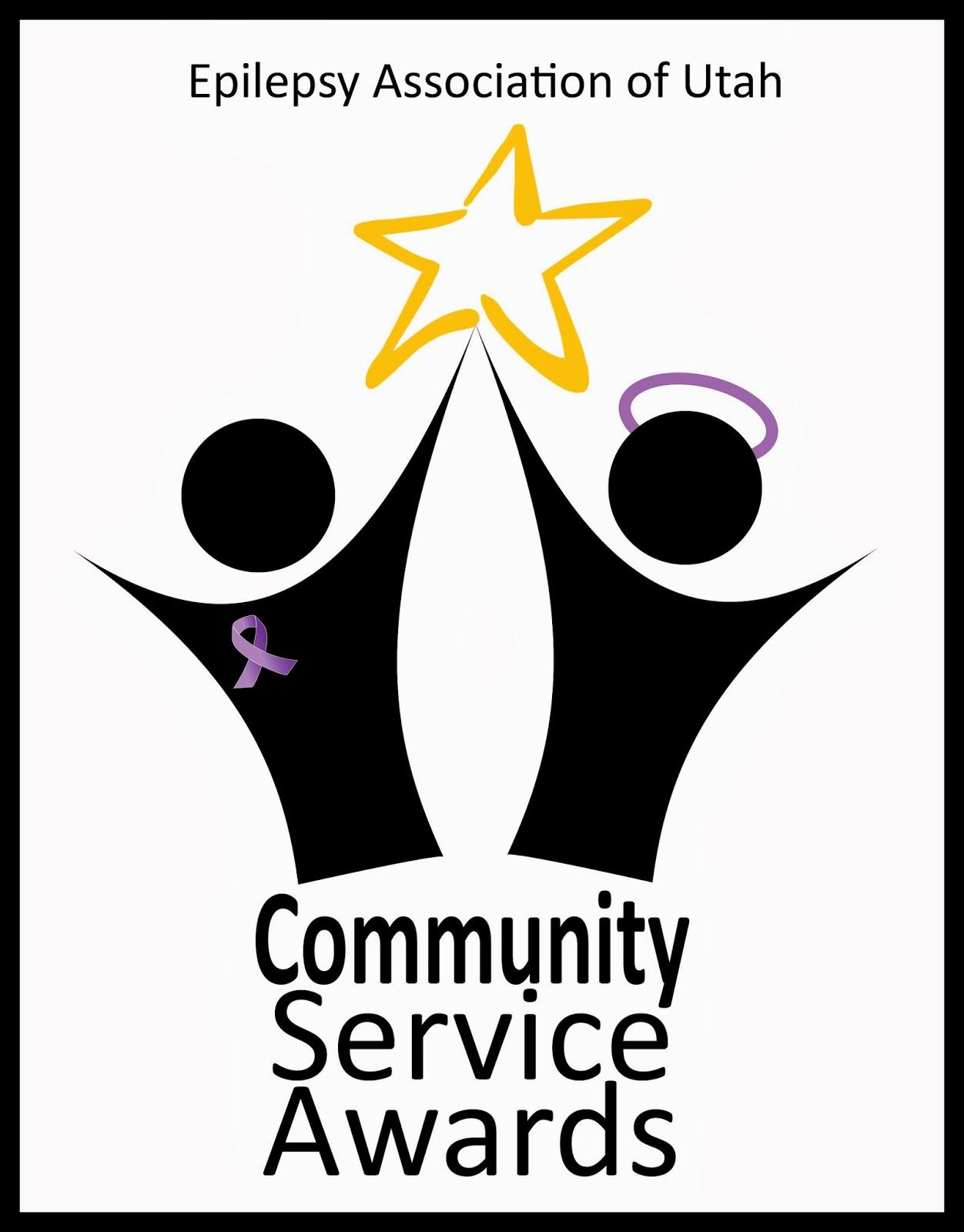 Epilepsyutah Community Service Award Winners