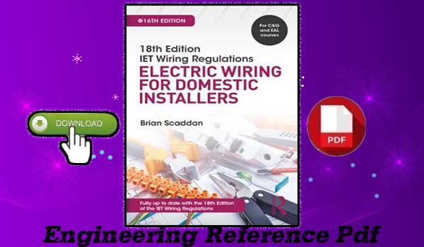 Download Electric Wiring for Domestic Installers 18th Edition by Brian Scaddan free PDF