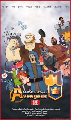 Desenhos lendários de Clash Royale feitos por fãs - 7