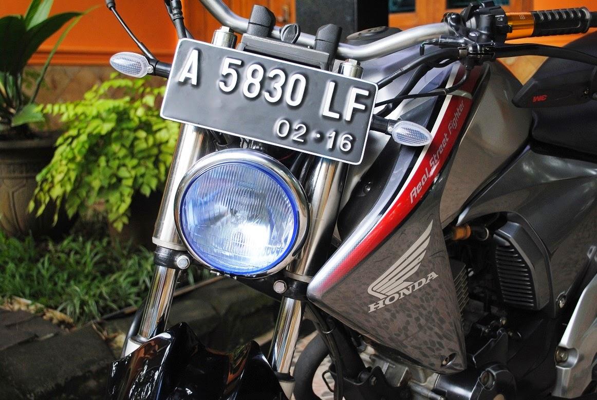 Koleksi Foto Modifikasi Motor New Megapro Terlengkap Modispik Motor