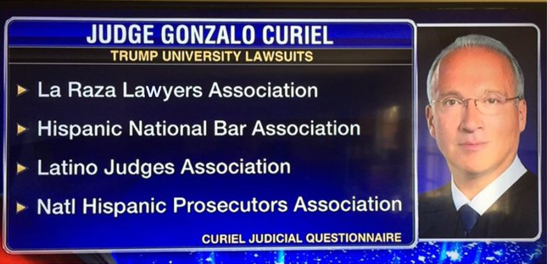 Trump University Judge Gonzalo P. Curiel