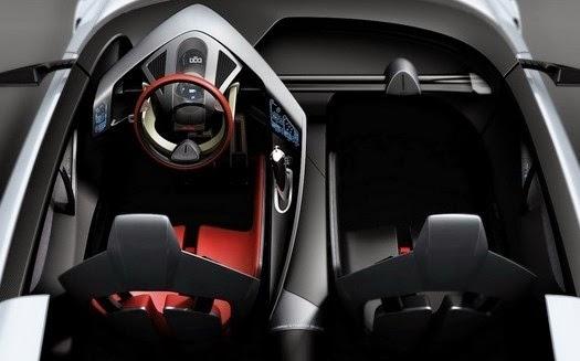 Interior Toyota Supra 2017