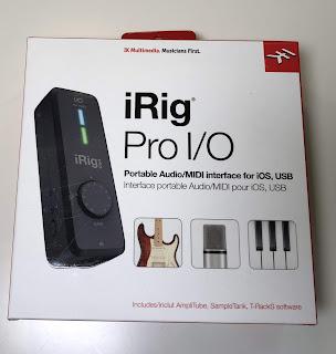 Voderseite der iRig Pro Verpackung