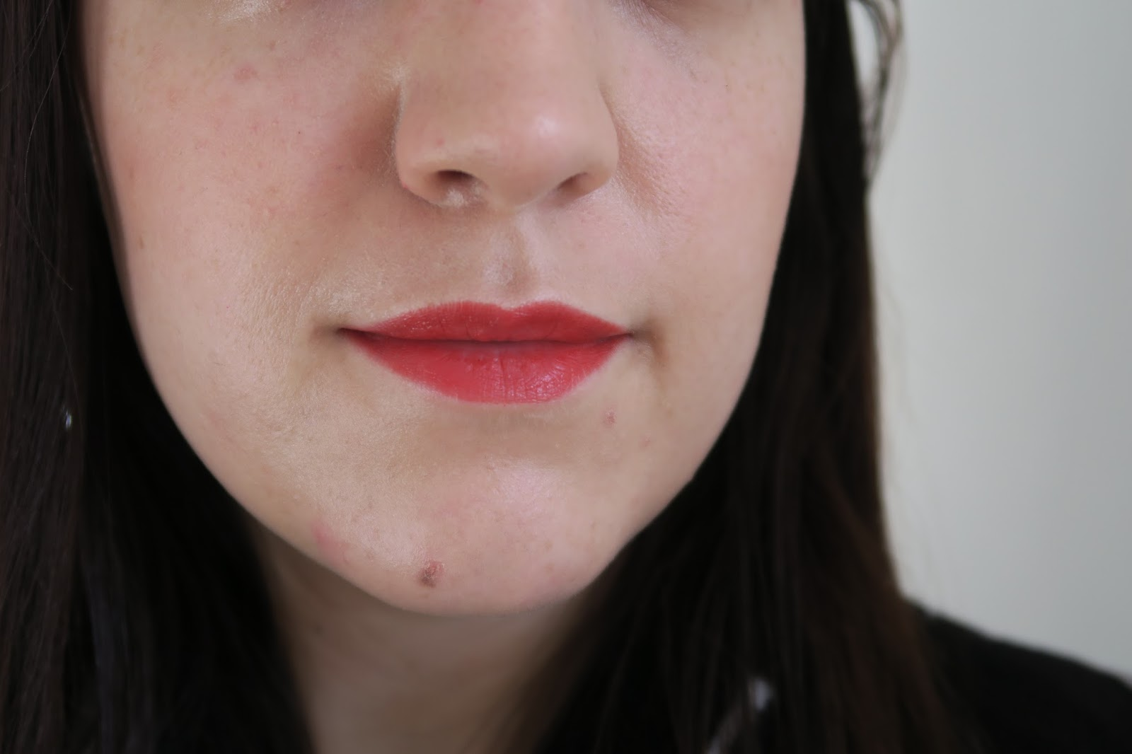 Living Nature Wild Fire Organic Lipstick Review & Swatch