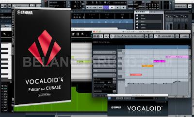 Vocaloid Software Interface