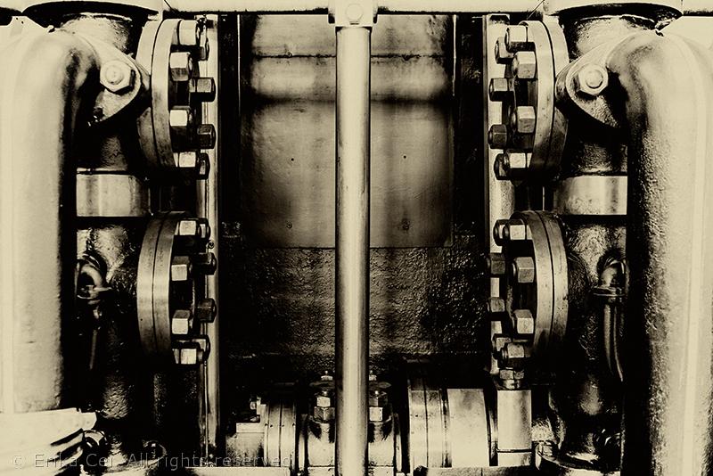 Centrale idrodinamica Trieste pompa