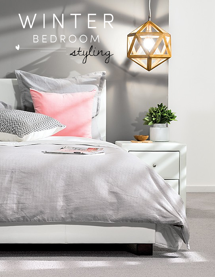 Winter Bedroom Styling  Winter Bedroom Styling FLIP AND STYLE Australian  Fashion. Bedroom Styling