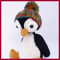 Pinguino con gorrito