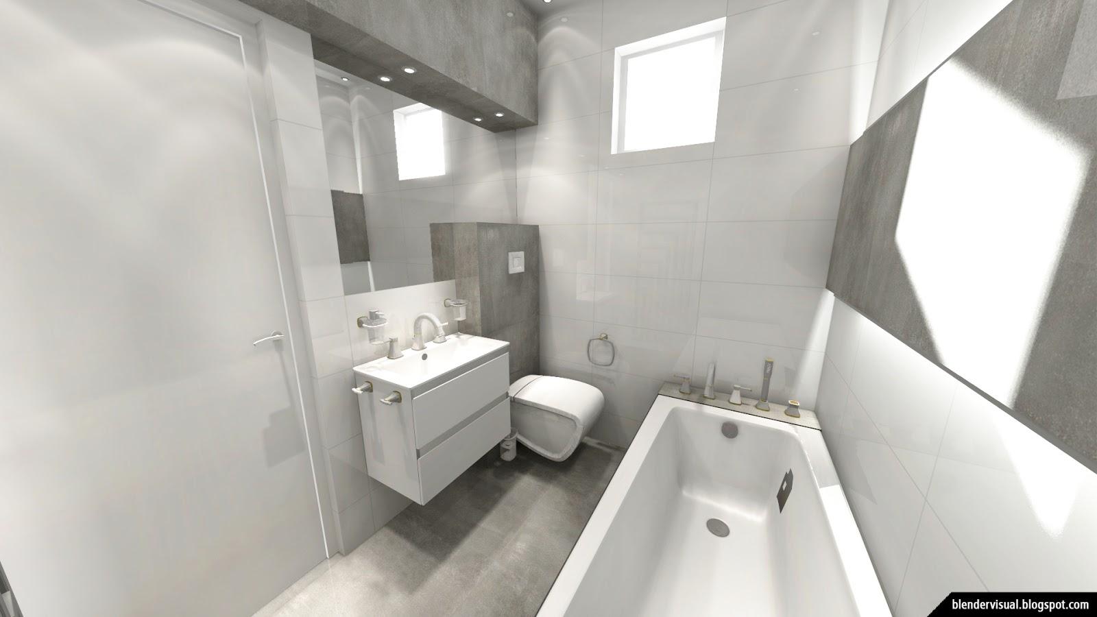 Unique Daily Render Interior Design Bathroom