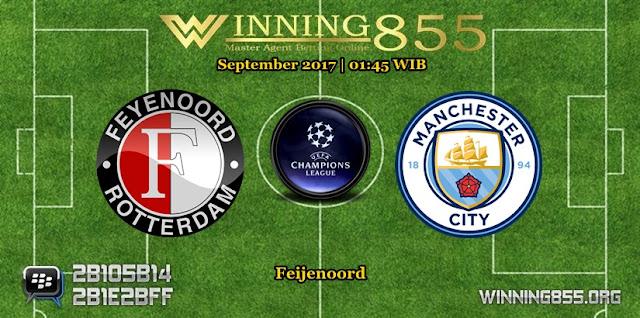 Prediksi Skor Feyenoord vs Manchester City