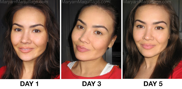 Maryam Maquillage Flawlessly Dinair Brushed