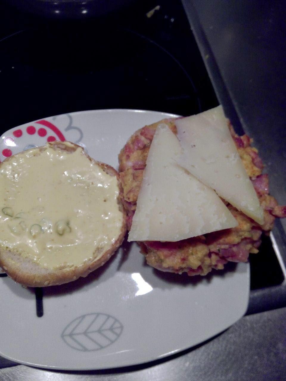 Carne con queso de Idiazabal