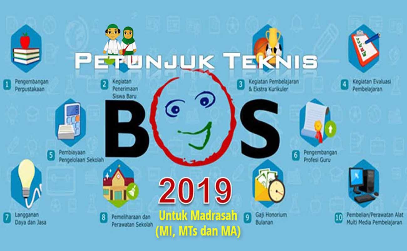 Petunjuk Teknis Juknis Bos Madrasah 2019 Mi Mts Ma