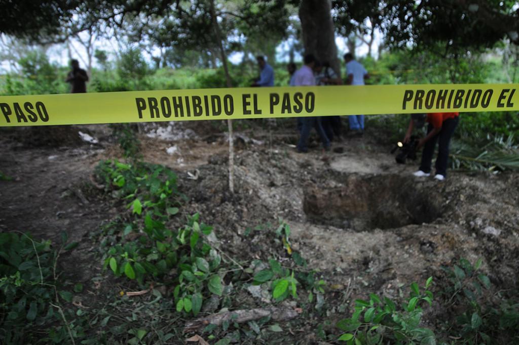 Veracruz, La narcopolicía de Duarte también sepultaba cuerpos