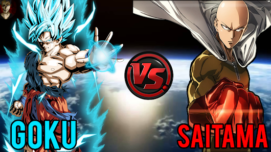Goku vs Saitama One Punch Man Who is the Strongest  - One Punch Man Season 2 Release Date