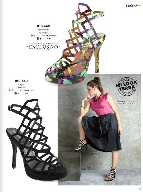 calzados damas con detalles mundo terra