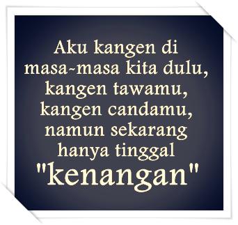 Gambar Foto DP BBM Kangen Mantan Kekasih