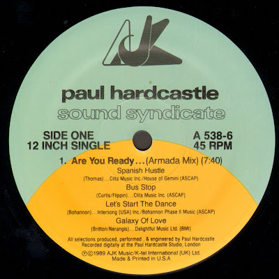 Paul Hardcastle – Sound Syndicate – Are You Ready… (1989) (VLS) (FLAC + 320 kbps)