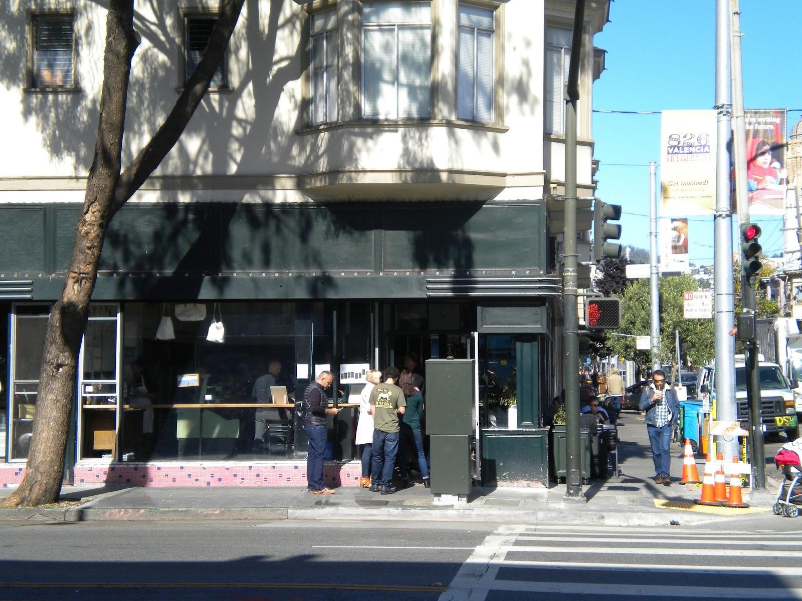 tartine bakery san francisco mission california leipomo mission matkailu matkajuttu mallaspulla