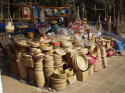 Sunder Nagar market in Delhi