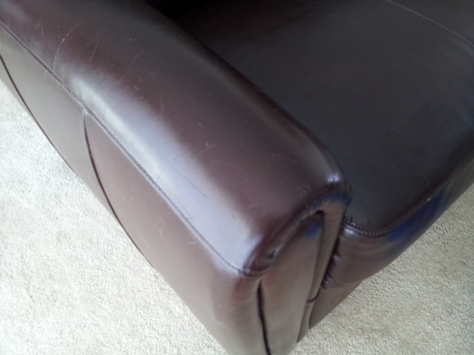 How To Repair A Leather Sofa From Cat Scratches Bauhaus Sofas Canada Mash Up Chic Way Go E V O