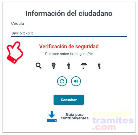 consulta certificado no ruc
