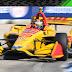 Hunter-Reay supera Rossi no fim e vence corrida 2 em Detroit